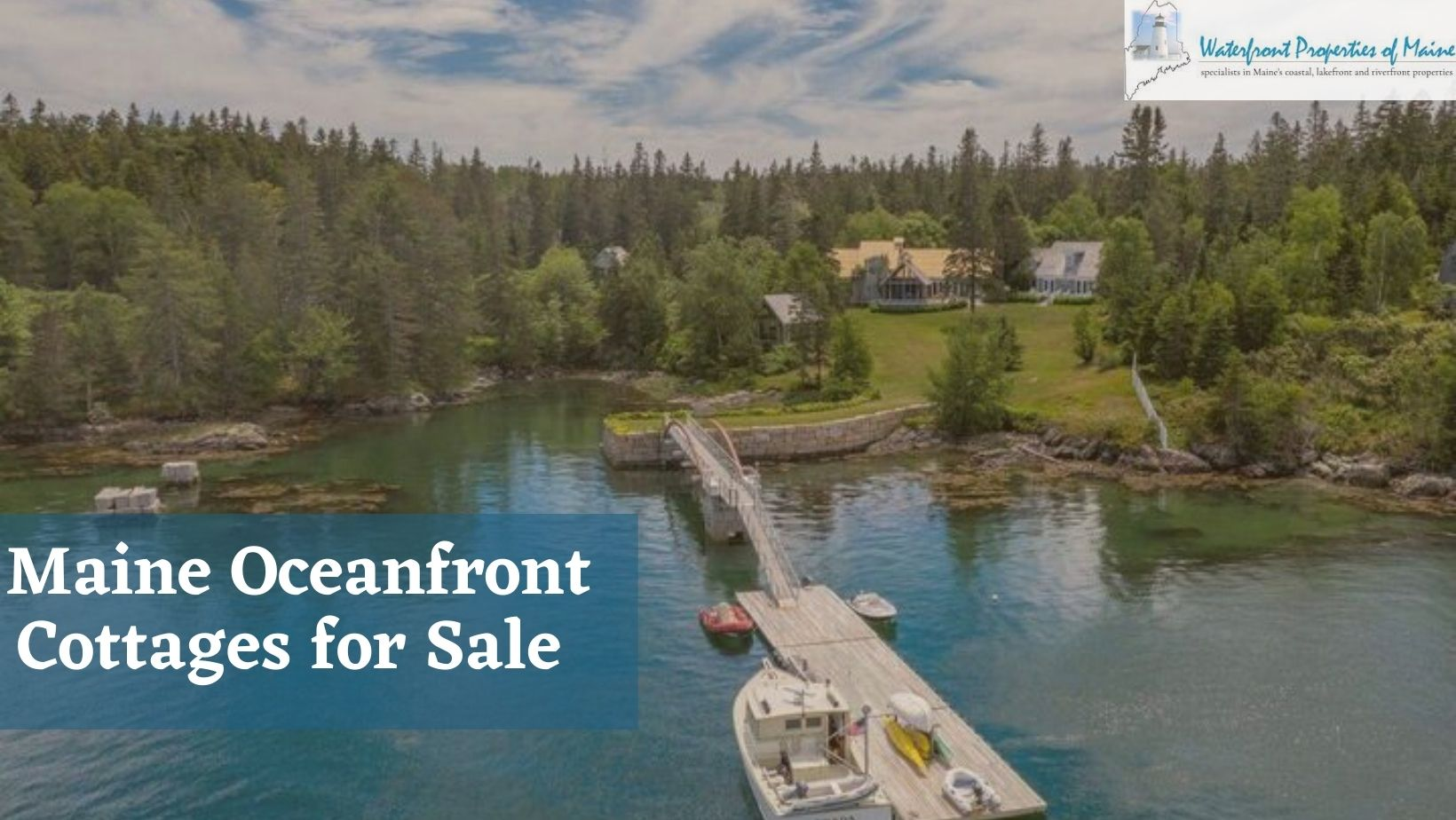Maine oceanfront property for Sale